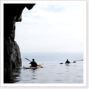 kayak the Small isles