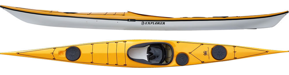 Explorer sea kayak