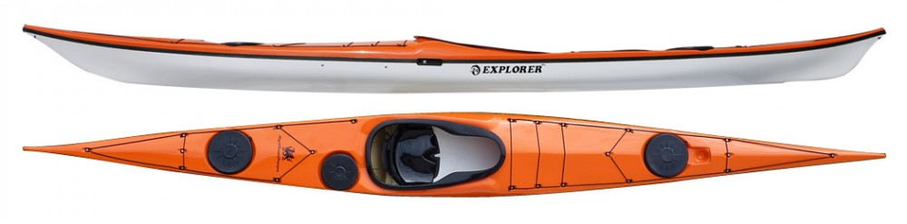 Explorer HV sea kayak