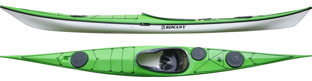 Romany sea kayak