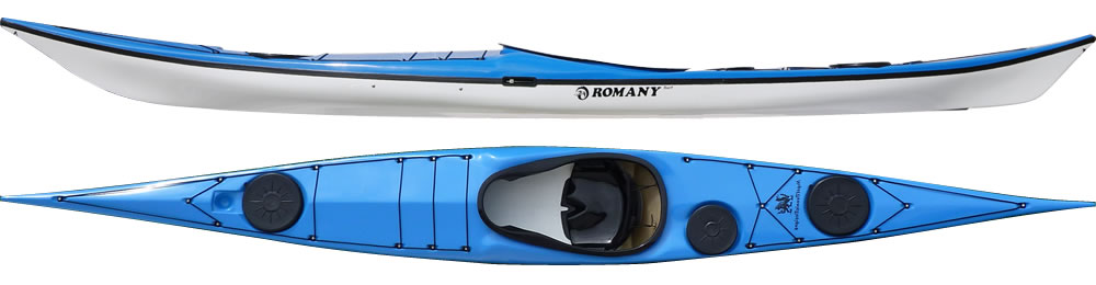 Romany Surf sea kayak