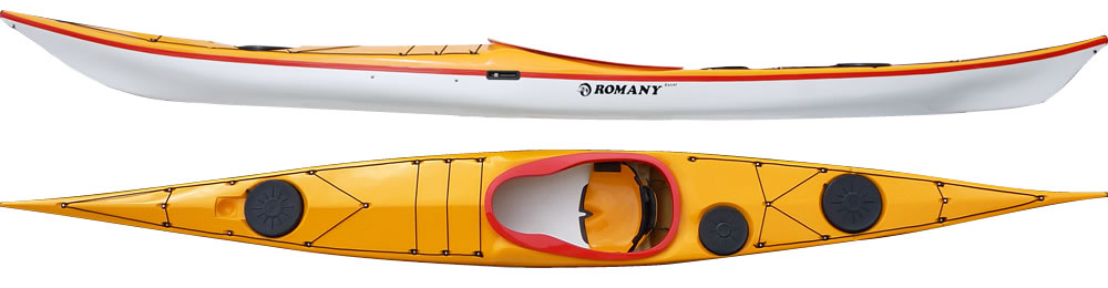Romany Excel sea kayak