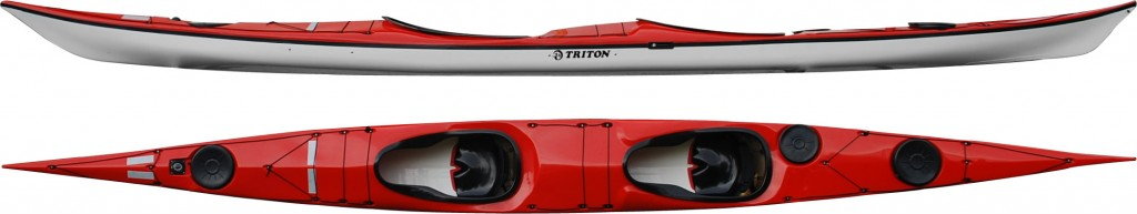 Triton Double sea kayak